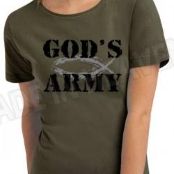 D25A. GOD'S ARMY - KHAKI