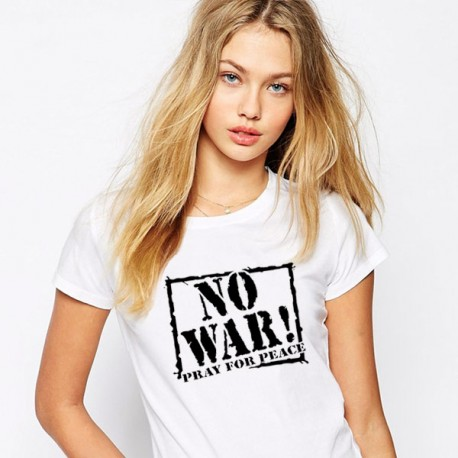 D48. NO WAR PRAY FOR PEACE - 3 KOLORY