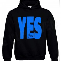 B57. YES JESUS - KAPTUR 3XL