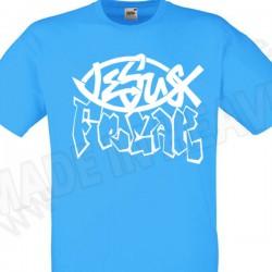 K 002A. JEZUS UWALNIA - AZURE BLUE