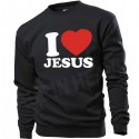 BB118. I LOVE JESUS - CZARNA