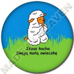 BU06. JEZUS KOCHA SWOJĄ MAŁĄ OWIECZKĘ
