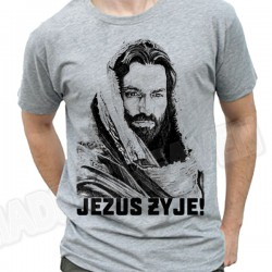 K130. JEZUS ŻYJE - 2 KOLORY